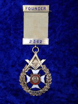 Bloomsbury Rifles founders jewel