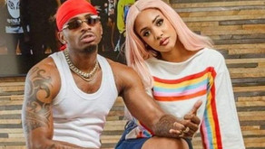 Tanasha Back On Friendly Terms With Diamond Platinumz.