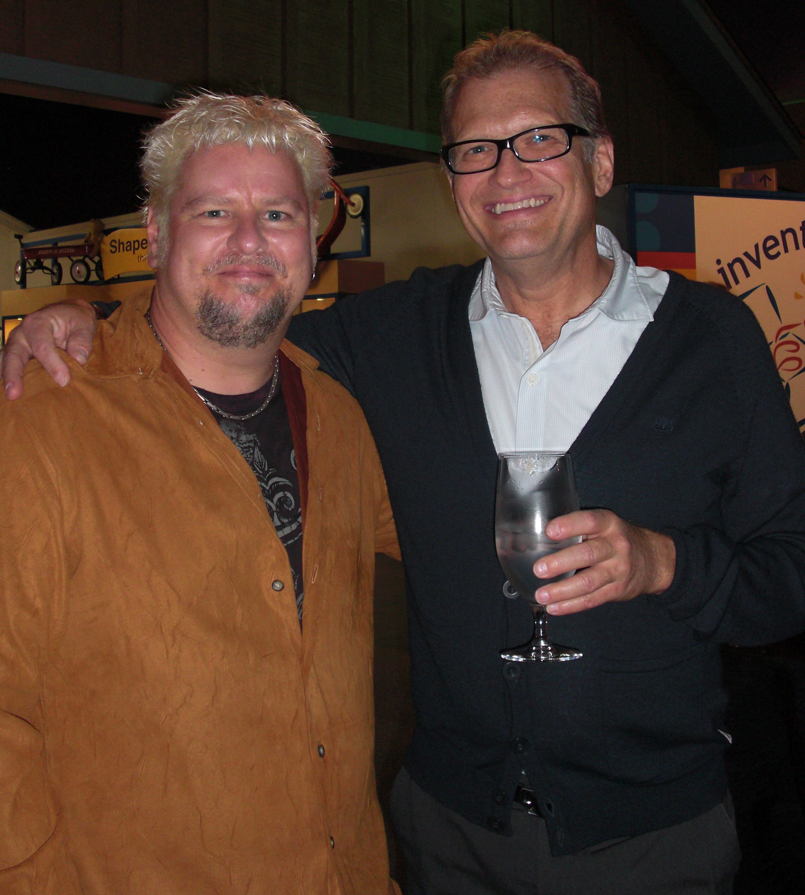 Pete Lacey and Drew Carey.JPG