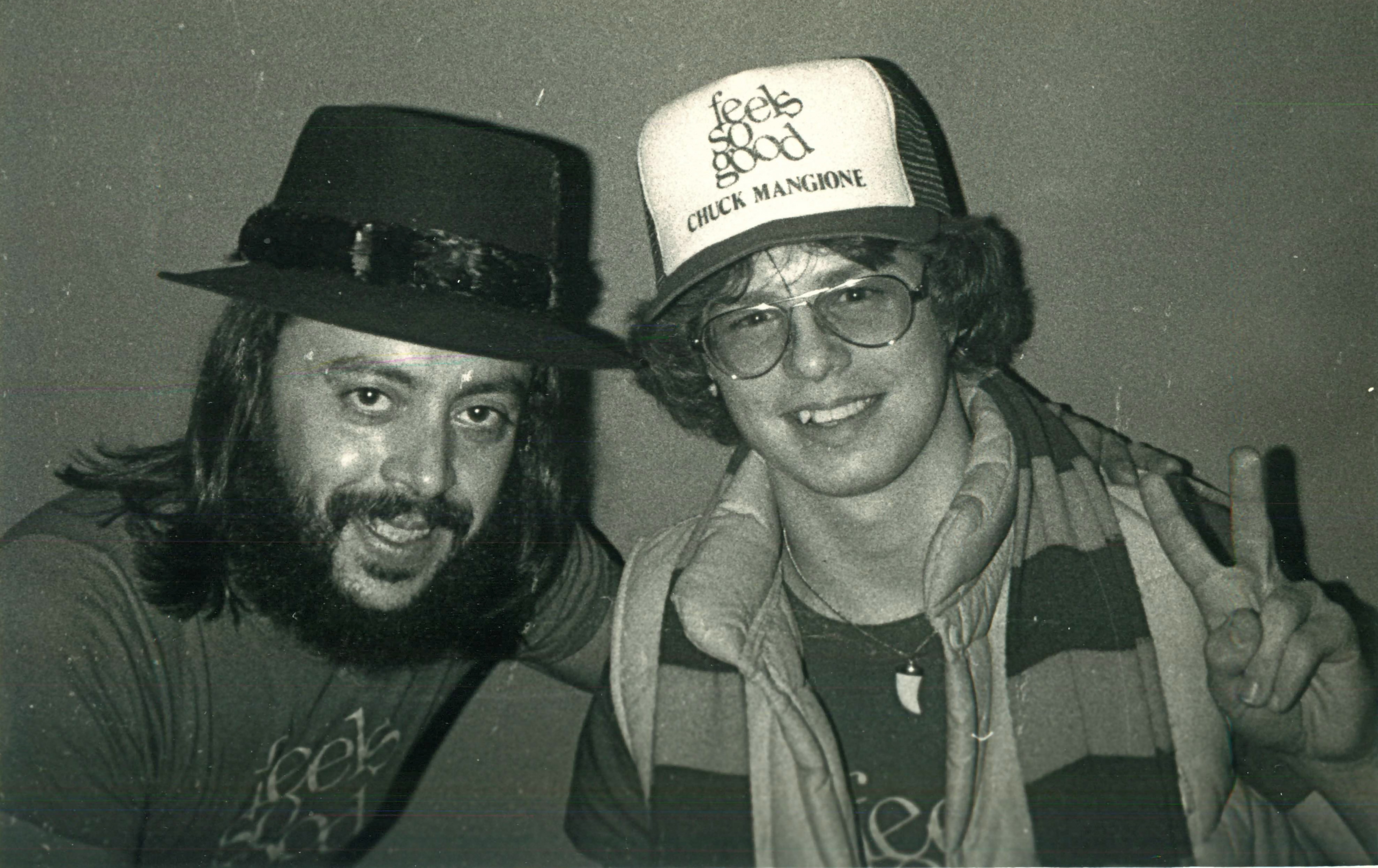 Pete Lacey & Chuck Mangione 1980-81.jpg