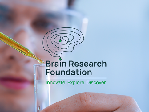 BRAIN RESEARCH FOUNDATION - BRAND IDENTITY COMING SOON