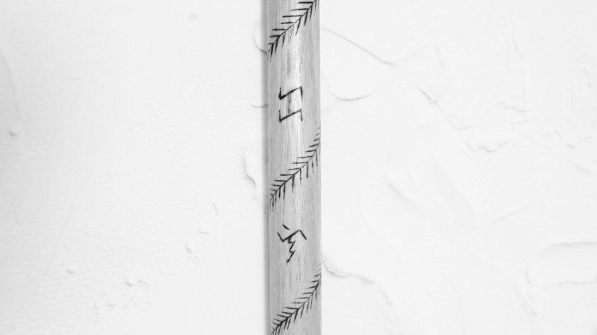 Baybayin Spiral Centipede (Palm Stick)