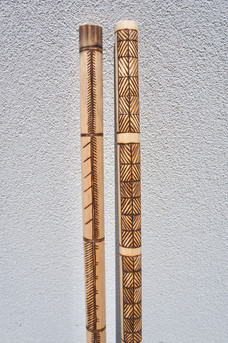 Spear and Shield Kali Stick
