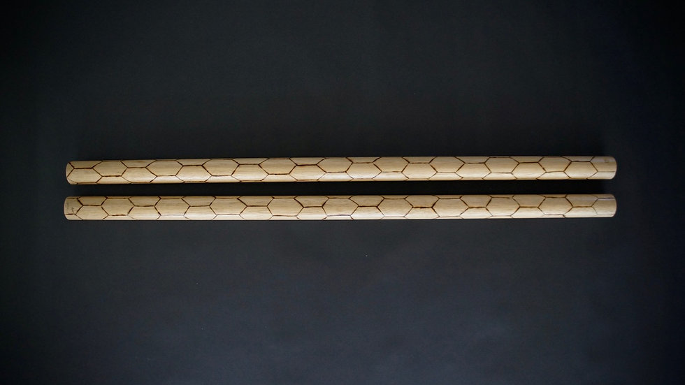 Luzon Weave (Kali Sticks)