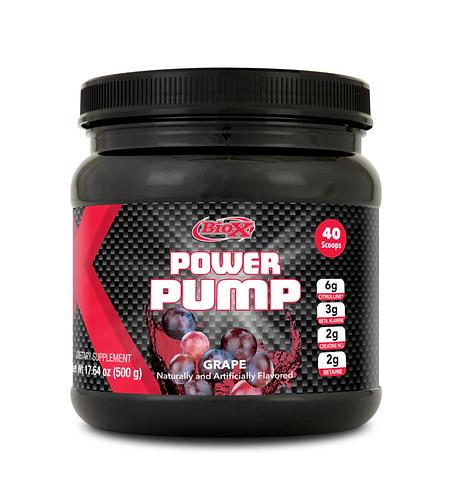 BioX Performance Nutrition Power Pump Grape (500g tub)