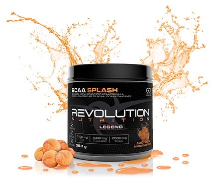 Revolution Nutrition BCAA Splash Candy Peach (360g tub)