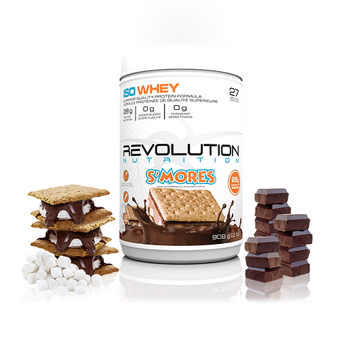 Revolution Nutrition Whey Isolate S'mores (6lbs tub)