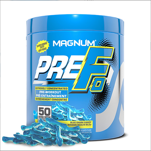 Magnum Nutraceuticals Pre-FO Blue Shark Candy (290g tub)