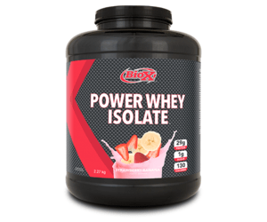 BioX Performance Nutrition Power Whey Isolate Strawberry Banana (2.27kg tub)