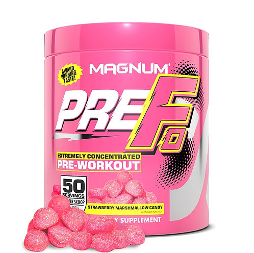 Magnum Nutraceuticals Pre-Fo Strawberry Marshmallow (290g tub)
