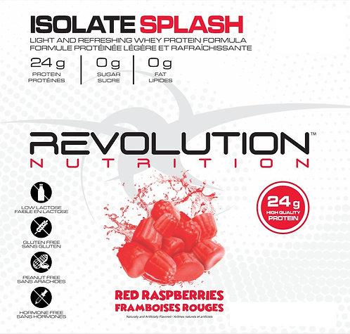 Revolution Nutrition Whey Isolate Splash Red Raspberries (1+ servings)
