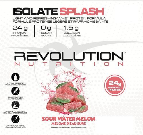Revolution Nutrition Whey Isolate Splash Sour Watermelon (1+ servings)