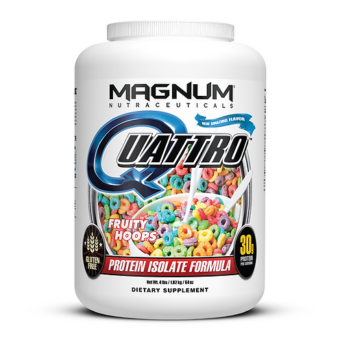 Magnum Nutraceuticals Quattro Fruity Hoops (4lbs tub)