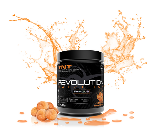 Revolution Nutrition TNT Candy Peach (300g tub)