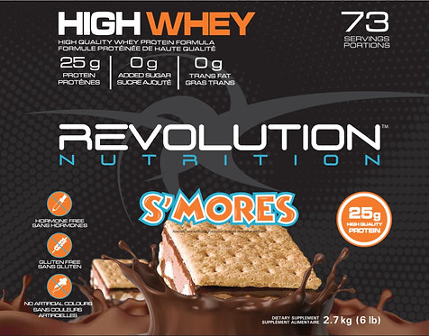 Revolution Nutrition High Whey S'mores (1+ servings)