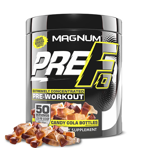 Magnum Nutraceuticals Pre-Fo Candy Cola Bottles (290g tub)
