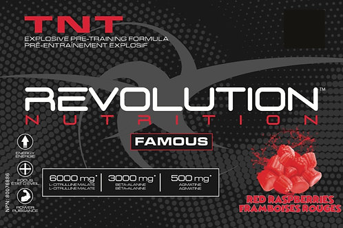 Revolution Nutrition TNT Red Raspberries (1+ servings)