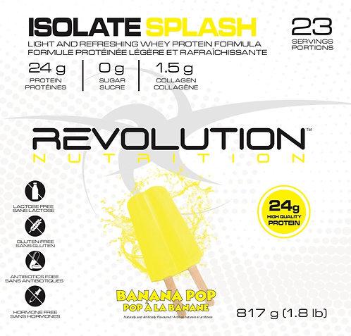 Revolution Nutrition Whey Isolate Splash Banana Pop (1+ servings)