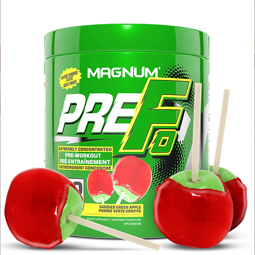 Magnum Nutraceuticals Pre-Fo Candied Green Apple (290g tub)