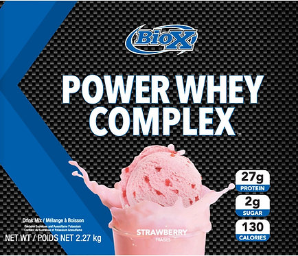 BioX Power Whey Complex Strawberry (1 + servings)