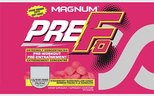 Magnum Nutraceuticals Pre-Fo Strawberry Marshmallow (1+ servings)