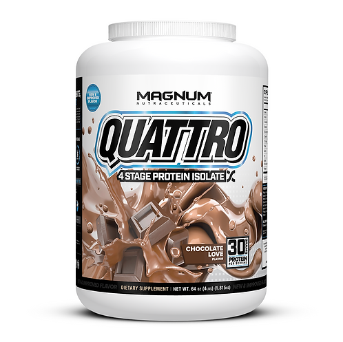 Magnum Nutraceuticals Quattro Chocolate Love (4lbs tub)