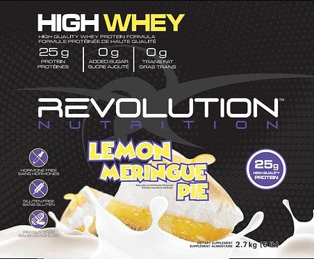 Revolution Nutrition High Whey Lemon Meringue Pie (1+ servings)