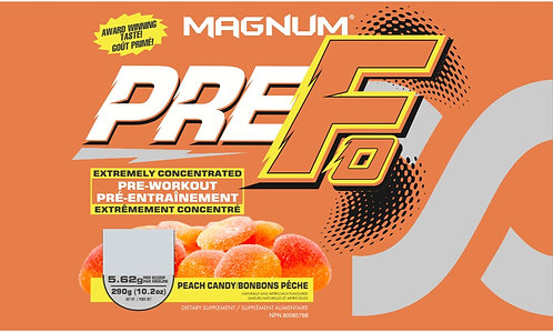 Magnum Nutraceuticals Pre-Fo Peach Candy (1+ servings)
