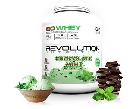 Revolution Nutrition Whey Isolate Chocolate Mint Ice Cream (6lbs tub)