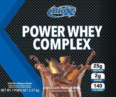 BioX Power Whey Complex Chocolate Peanut Swirl (1 + servings)