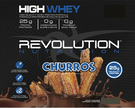 Revolution Nutrition High Whey Churros (1+ Servings)