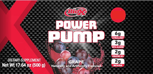 BioX Power Pump Grape (1+ servings)
