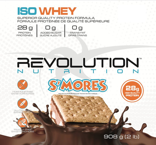 Revolution Nutrition Whey Isolate S'mores (1+ servings)