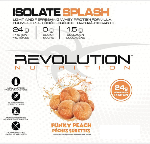 Revolution Nutrition Whey Isolate Splash Funky Peach (1+ servings)