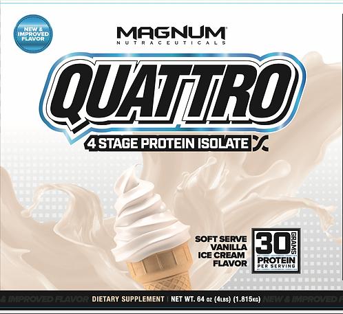 Magnum Nutraceuticals Quattro Soft Serve Vanilla Ice Cream (1+ servings)