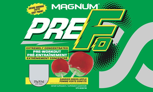 Magnum Nutraceuticals Pre-Fo Candied Green Apple (1+ servings)