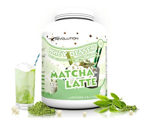 Revolution Nutrition Whey Dessert Matcha Latte (4lbs tub)