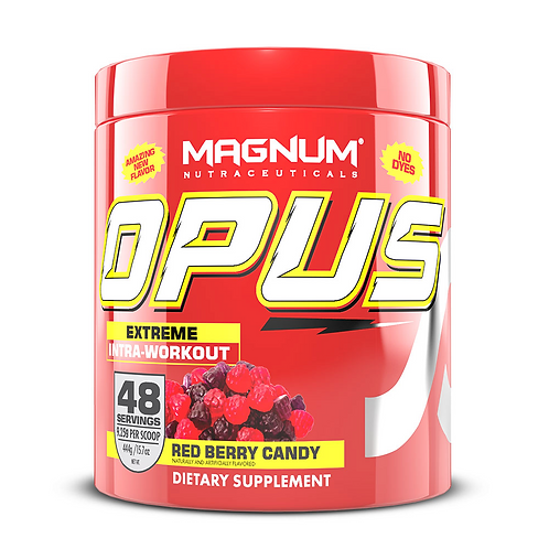 Magnum Nutraceuticals Opus Red Berry Candy (444g tub)