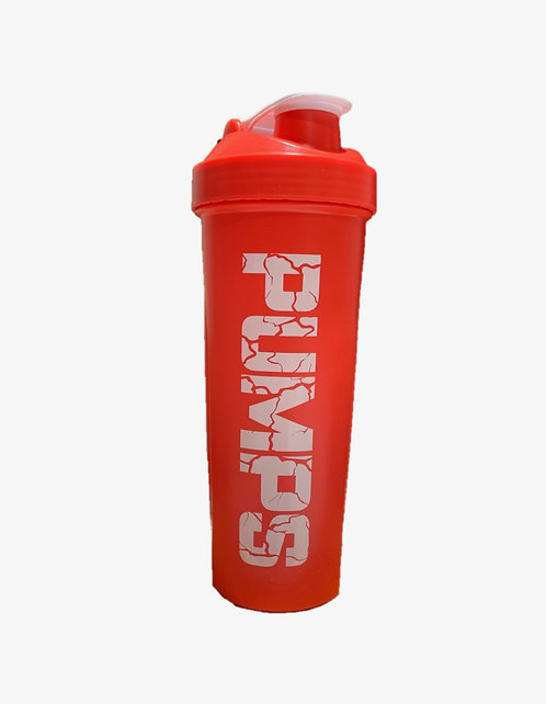 "Magnum Nutraceuticals ""PUMPS"" Shaker Bottle Red"
