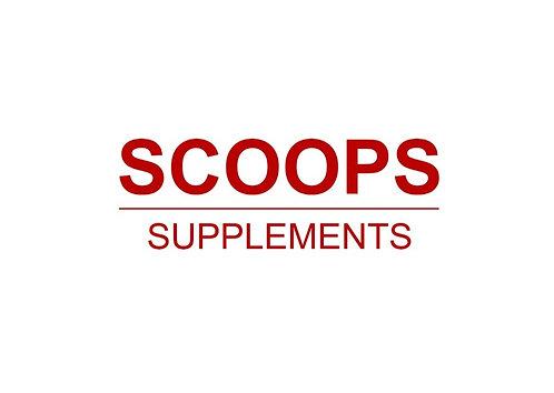 Scoops Supplements Sticker