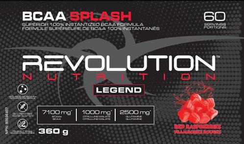 Revolution Nutrition BCAA Splash Red Raspberries (1+ servings)