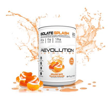 Revolution Nutrition Whey Isolate Splash Orange Slice (1.8lbs tub)