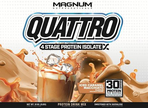 Magnum Nutraceuticals Quattro Iced Caramel Macchiato (1+ servings)