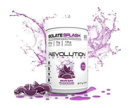 Revolution Nutrition Whey Isolate Splash Grape Slice (1.8lbs tub)