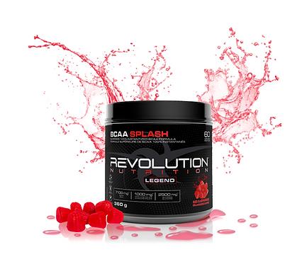 Revolution Nutrition BCAA Splash Red Raspberries (360g tub)