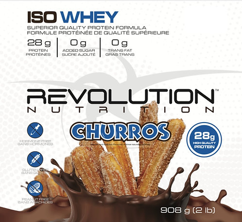 Revolution Nutrition Whey Isolate Churros (1+ servings)