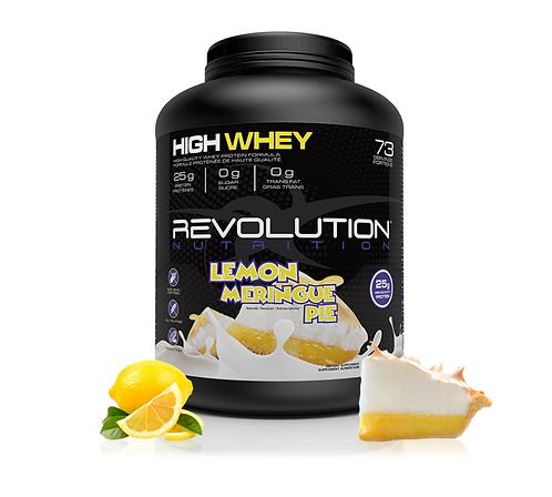 Revolution Nutrition High Whey Lemon Meringue Pie (6lbs tub)