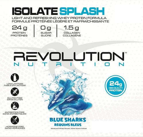 Revolution Nutrition Whey Isolate Splash Blue Shark (1+ servings)
