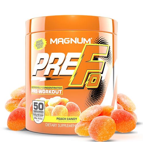 Magnum Nutraceuticals Pre-Fo Peach Candy (290g tub)