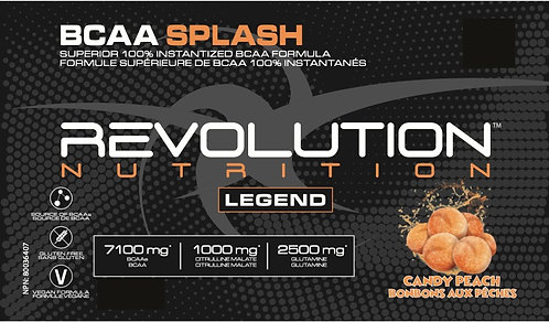 Revolution Nutrition BCAA Splash Candy Peach (1+ servings)